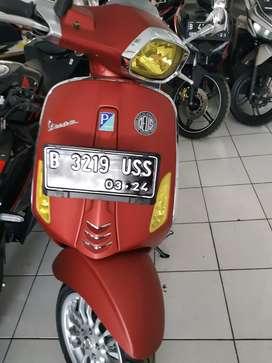 Piaggio sprint 150 ABS th2019 grts blk nma dki cash nd kredit bisa bgt
