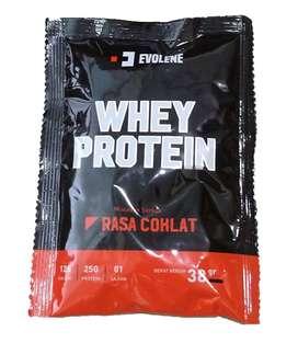 Evolene Whey Protein 1 Sachet 38 gram 1 Lbs / bubuk powder suplemen
