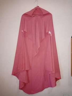 Preloved Khimar Syar'i Pink