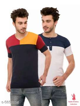 Stylish cotton blend men's t-shirt