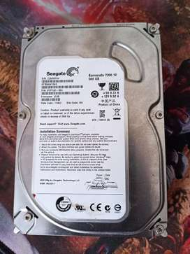 Hardisk 3,5 in Seagate barracuda 500gb