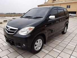 Toyota avanza G matic 2010 warna hitam