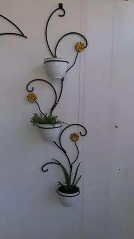 Standing pot dinding,hiasan dinding,rak bunga dinding,hiasan rumah
