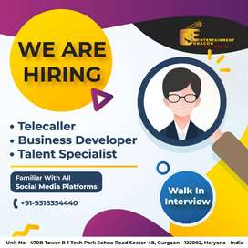 Talent Specialist /CS / BDE (Mobile Application Marketing)