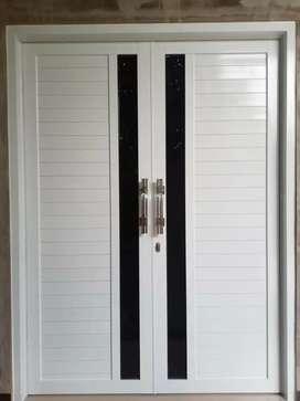 Pintu alumunium kusen cendela