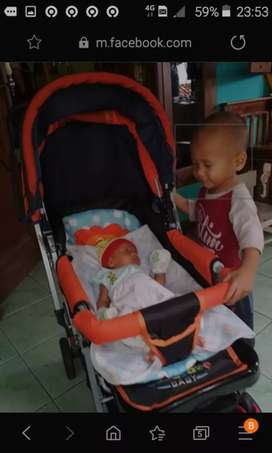 Stroller baby classic 218