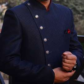 Wedding Nawabi Sherwani Suit (Padded Shoulder) for Sell in Pune/PCMC