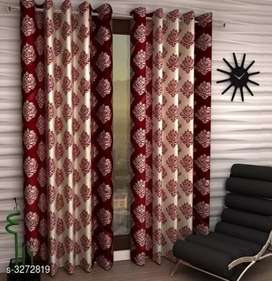 Beautiful Polyester Door Curtains