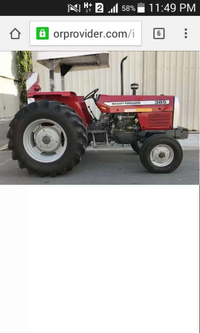 Mf 385 tractor for sale in bypass choke 0