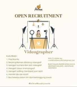 Dicari Videographer