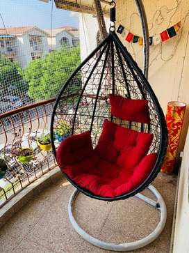 Swing Chairs with free delivery, free cusions and no other charges
