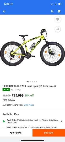 Big daddy fat tyre