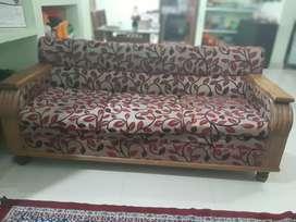 Tack wood sofa