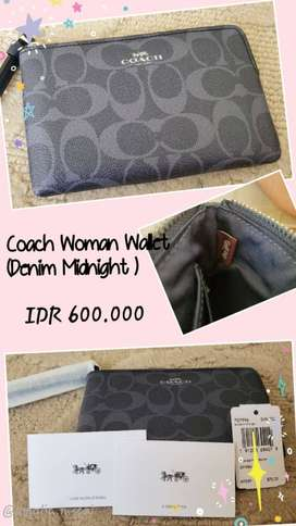 Coach Woman Wallet (Denim Midnight)