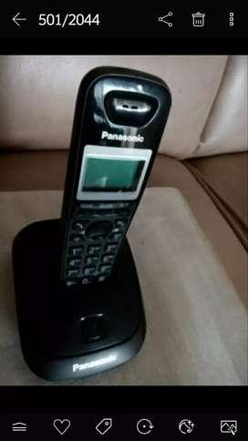 Telepon wireless Panasonic KX-TG 2511 FX. Normal, murah & bergaransi.