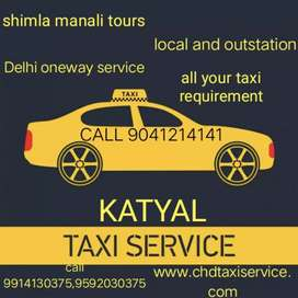 Taxi cab for rent available for all states and cities from chandigarh