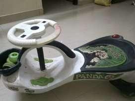 Kids panda car&cycle