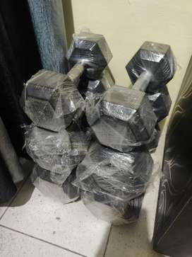 Hexagonal Dumbbell set | 5 kgs, 10 kgs, 15 kgs sets |