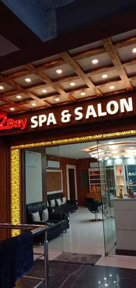Spa Therapist, Men Hair Dresser