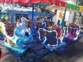 mainan kuda animal ride wahana odong kereta panggung ikan nemo DCN