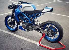Modified KTM DUKE CAFE RACER/SCRAMBLER for sale and modifications