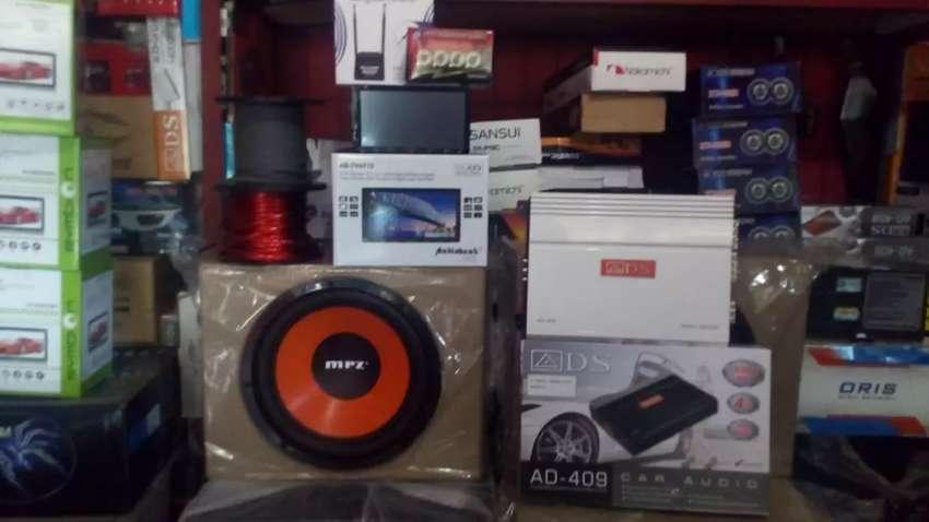Paket Komplit Audio Mobil Bergaransi 0
