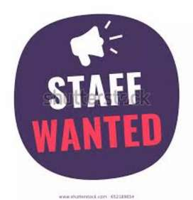 Required receptionist for newly opening restaurants