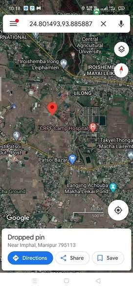 Selling land plot