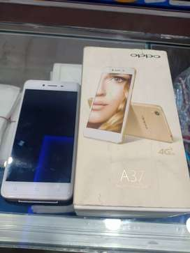 Oppo A37 with full  box 10/10