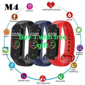 Smart fitness watch m4 with free gift