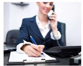 Need a female receptionist or telecaller