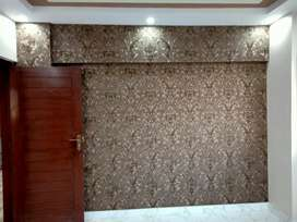Double story house for rent in pwd all facilities are available