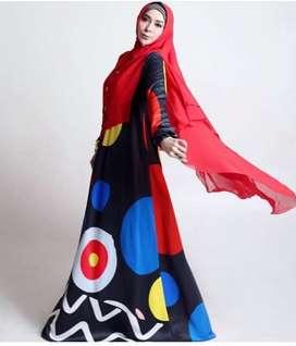 Baju syari modis brand sarah vi