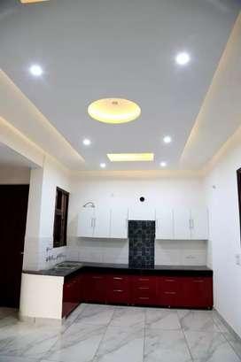 10 marla brand new 3bhk 2nd floor with roof garden corner sector 38 a