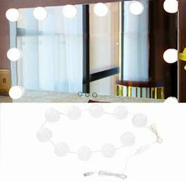 Lampu hias LED make up mirror 10LED