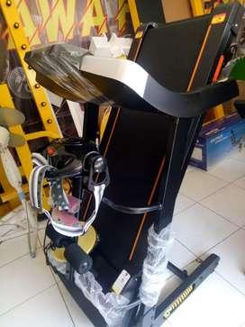 Treadmill i5 fitur lengkap dan stylish siap antar