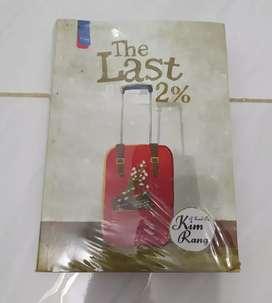 Buku novel The Last 2% by Kim Rang