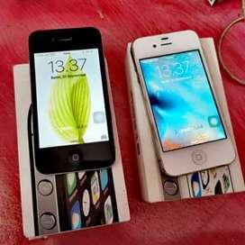 Iphone 4s 8gb ex resmi ibox lengkap original
