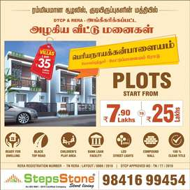 Dtcp Approved Plots for sale at periyanaickenpalayam Near Thudiyalur