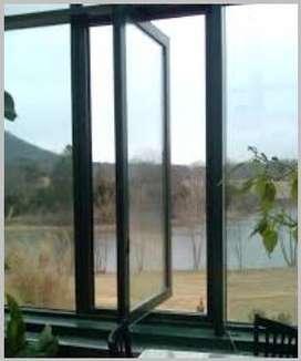 jual jendela JUNGKIT aluminium/t356