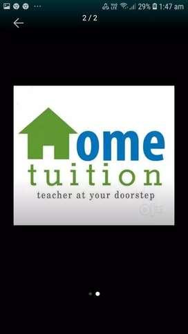 Hiring female tutor all over Hyderabad