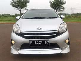 Tdp 6jt Agya G Trd At/Automatic 2016 Silver