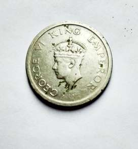 OLD COIN silver 1947