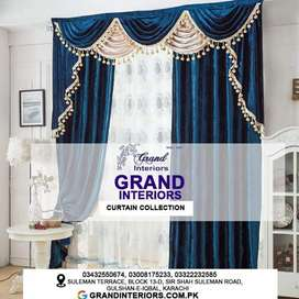 Curtains and blinds designer Grand interiors