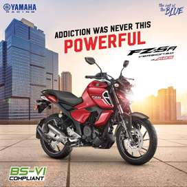 NEW Yamaha FZS Fi @ down payment of Rs.14,999 only