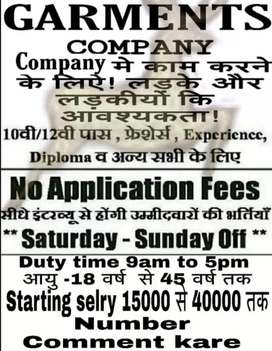 Urgently required talented boys and girls