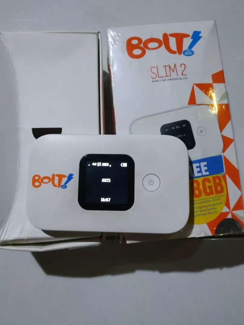 Modem Wifi 4 G Lte Bolt Slim2 Slim 2 Huawei E5577 Unlock all operator 0