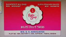 Store sales Boy or Girl required in my Bakery shop at CDA Cuttack