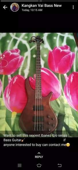 Bass Guitar Ibanez Gio series