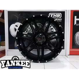 Velg Land Cruiser, Prado dll Tipe BULL HSR Wheel R20x9 H6X139,7 Black